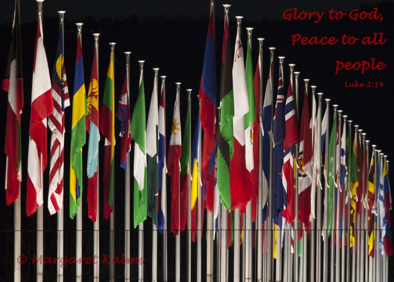 International flags (Peace to all people) 1116 crop fb