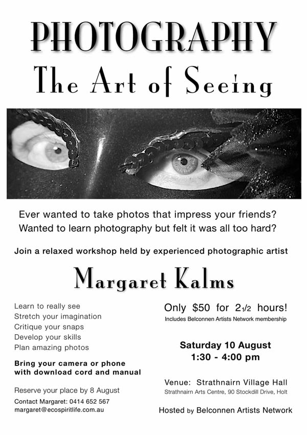 Photography-The Art of Seeing-Poster-web